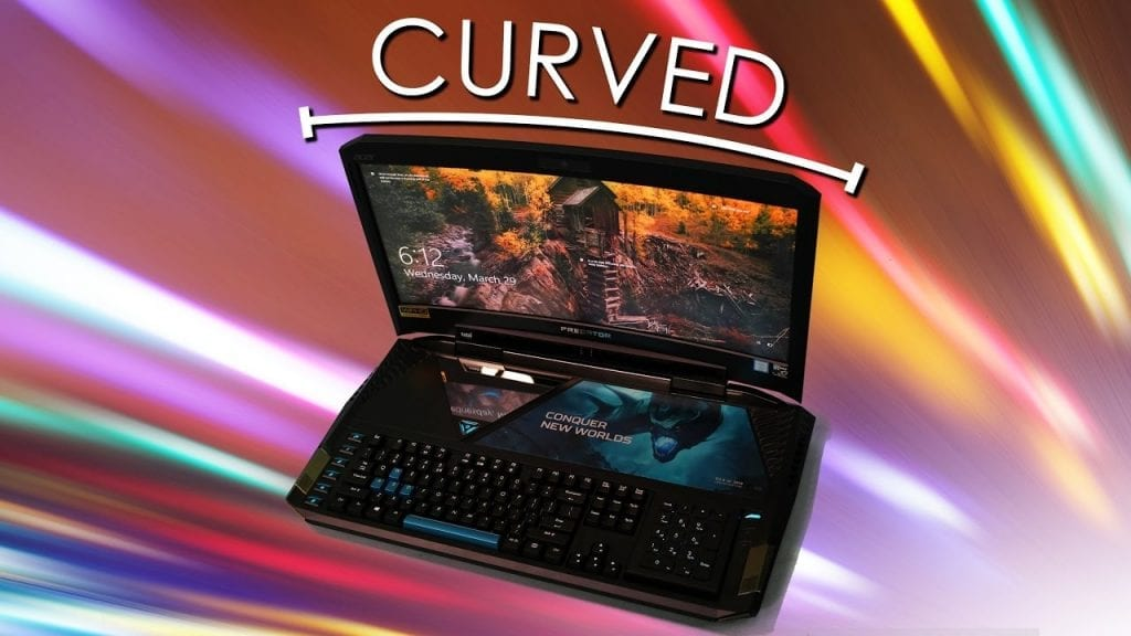Gaming Curved Laptop